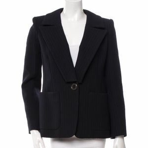 MARC JACOBS Wool Single button blazer jacket